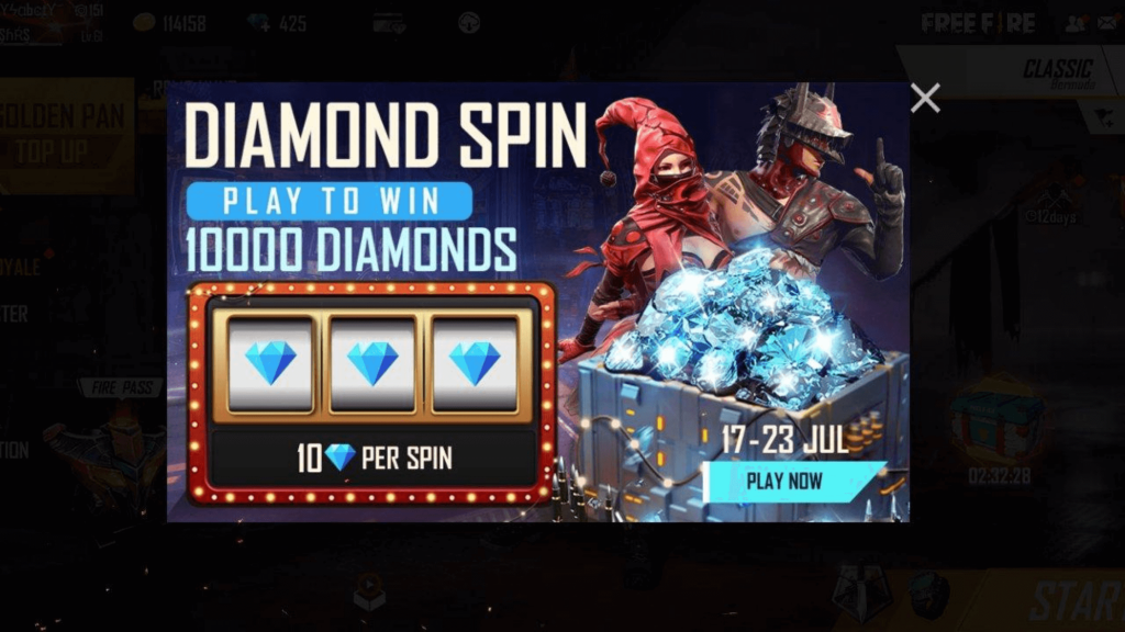 free fire generator online diamonds and coins