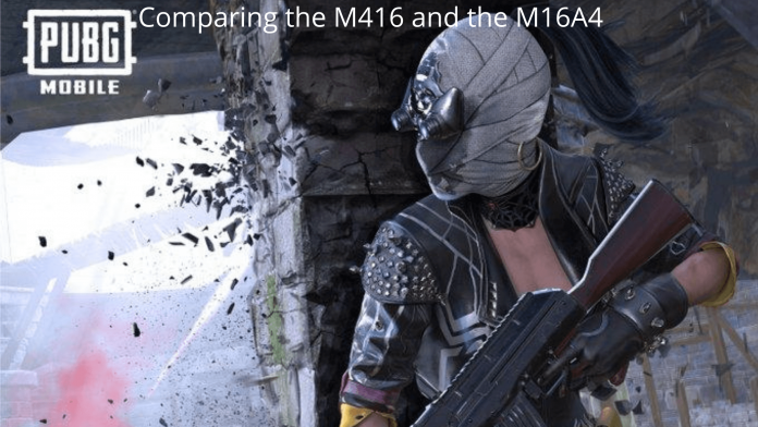 Comparing the M416 and the M16A4