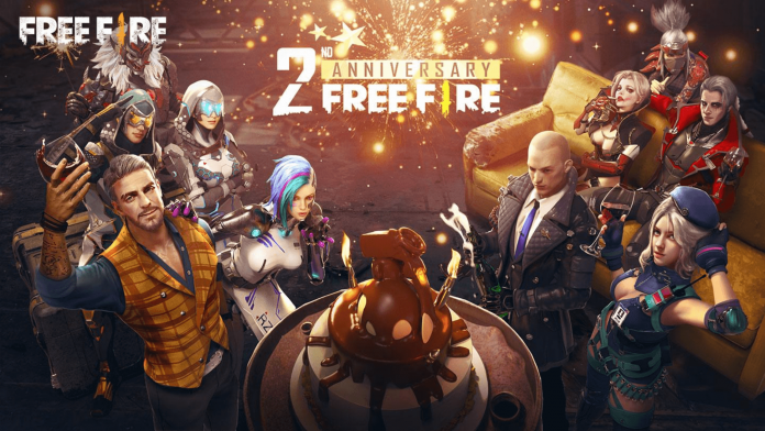 Free Fire 3volution 3rd Anniversary