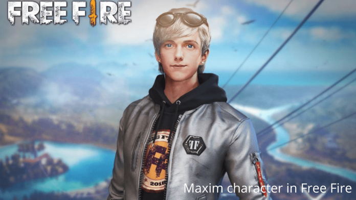 Maxim character in Free Fire