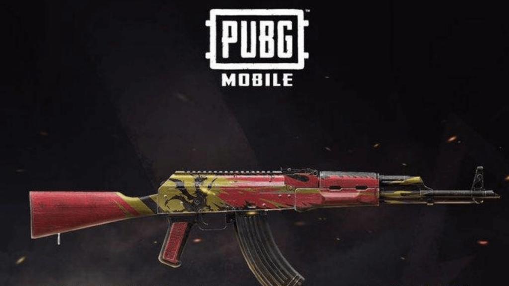 PUBG Mobile Free AKM Skin