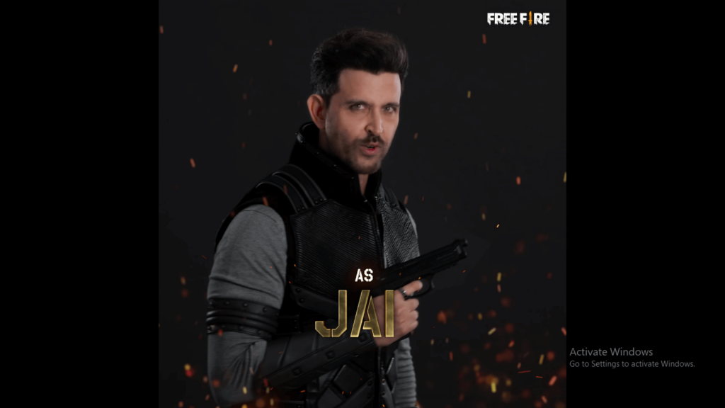Jai New character in Free Fire