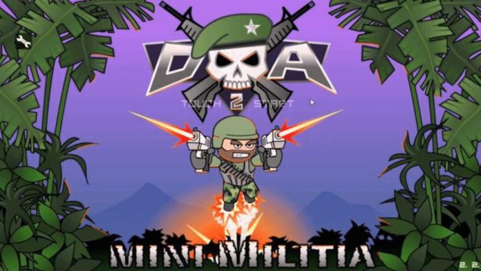 Mini Militia Mod Apk v5.3.2 Unlimited Hack, Unlimited health