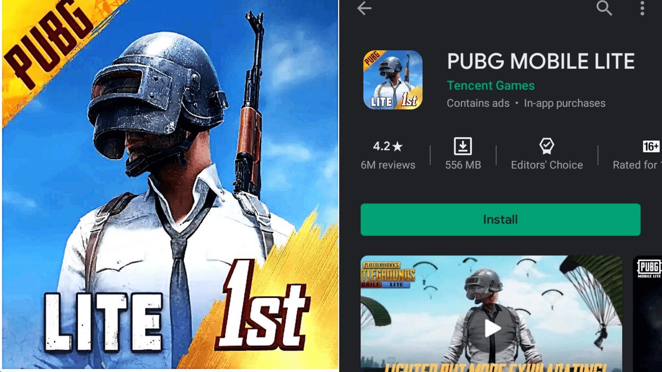 डाउनलोड पब्जी गेम PUBG Lite