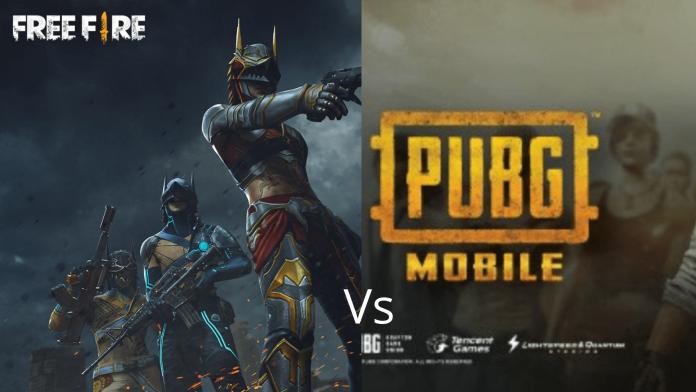 PUBG Mobile Lite vs Free Fire