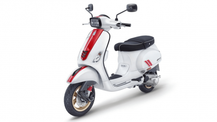 Piaggio launches Vespa Racing Sixties scooter