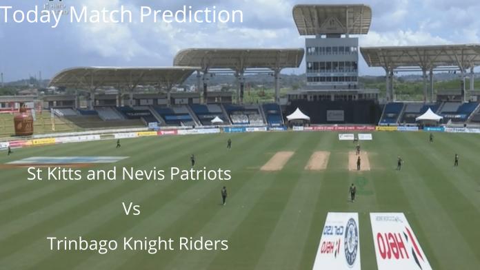 St Kitts and Nevis Patriots vs Trinbago Knight Riders