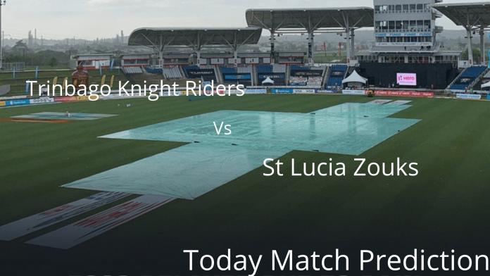 Trinbago Knight Riders vs St Lucia Zouks