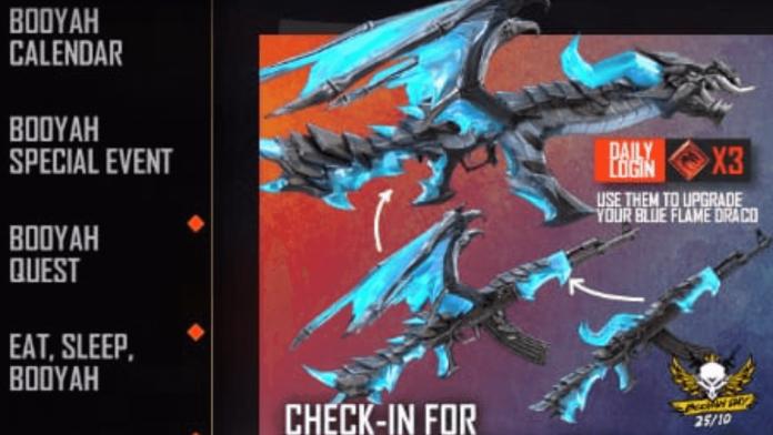 AK-47 Blue Flame Draco Skin