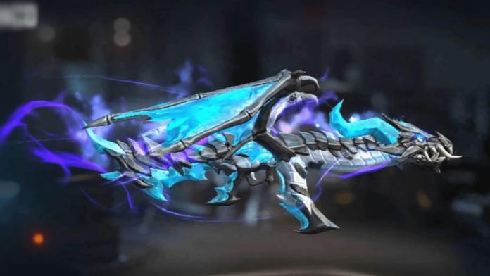 AK 47 Blue Flame Draco Skin