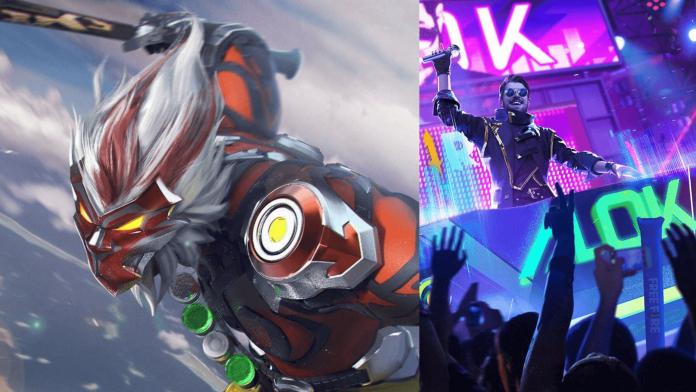 DJ Alok vs Wukong in Free Fire