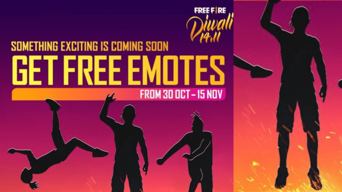 Free Fire Diwali event 2020