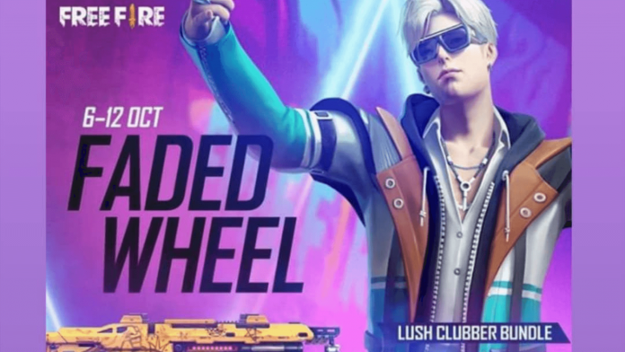 Garena Free Fire Faded Wheel event