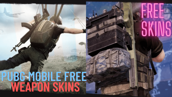 PUBG Mobile Free Weapon Skins