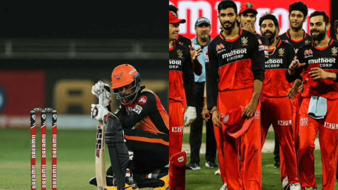 Sunrisers Hyderabad vs Royal Challengers Bangalore head-to-head