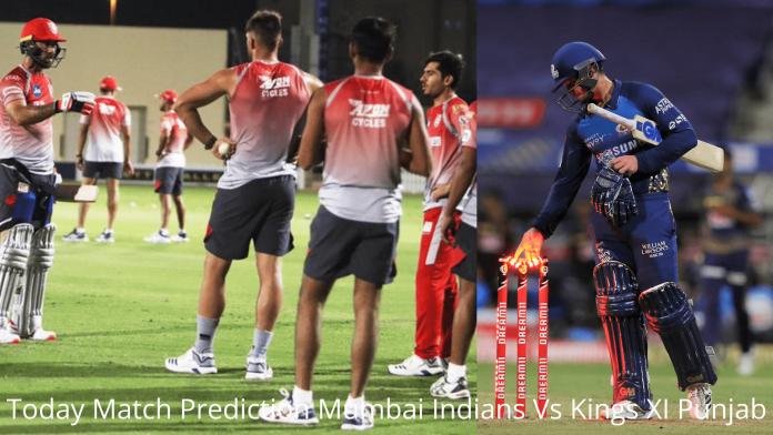 Today Match Prediction Mumbai Indians Vs Kings XI Punjab