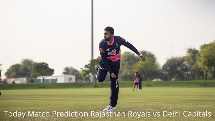 Today Match Prediction Rajasthan Royals vs Delhi Capitals