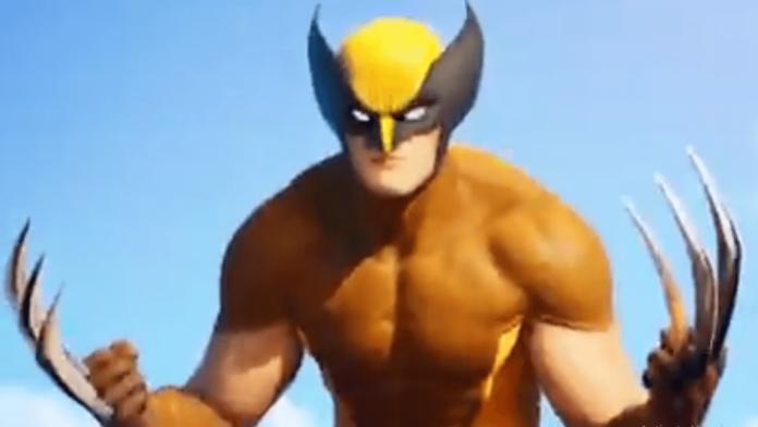 Wolverine in Fortnite