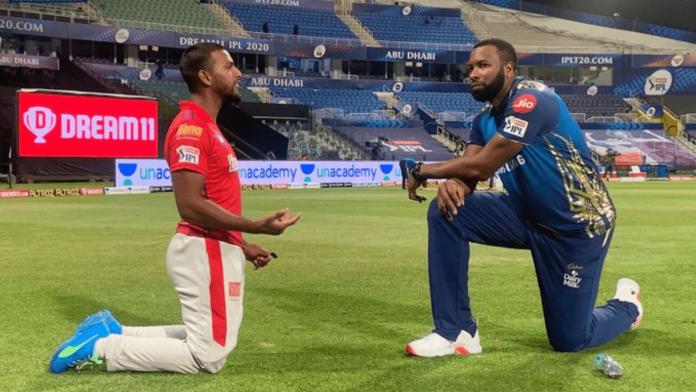 who won yesterday IPL match Mumbai Indians vs Kings XI Punjab