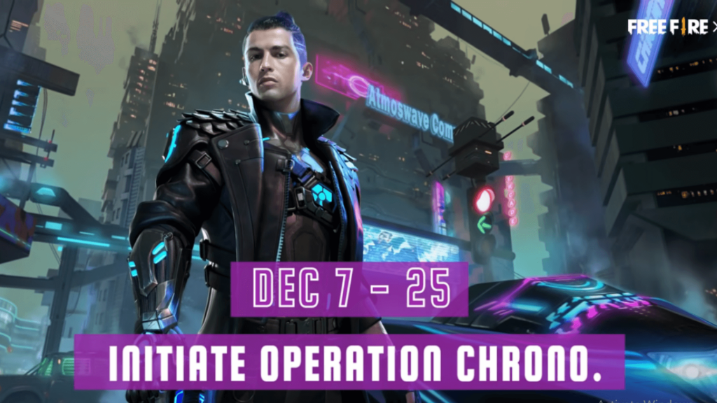 Free Fire Operation Chrono Event Free Rewards