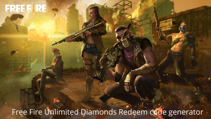 Free Fire Unlimited Diamonds Redeem code generator