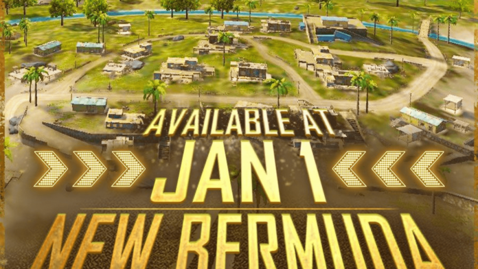 Free Fire new version of Bermuda Map
