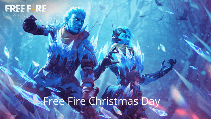 Free Rewards at Free Fire Christmas Day