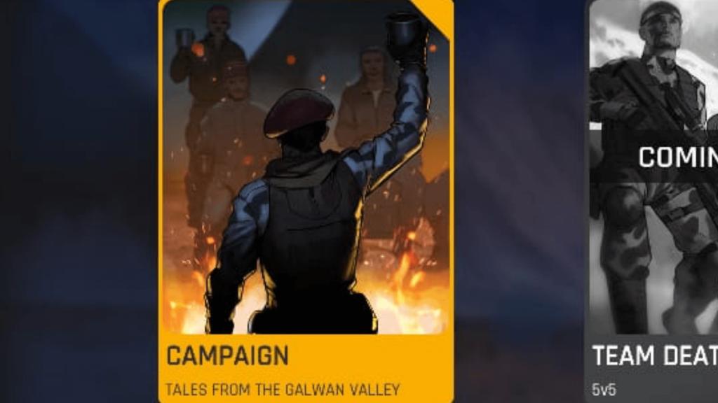 FAU-G Mobile Game Campaign mode