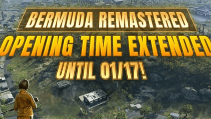 Free Fire Bermuda Remastered Map