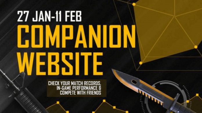 Free Fire Companion website