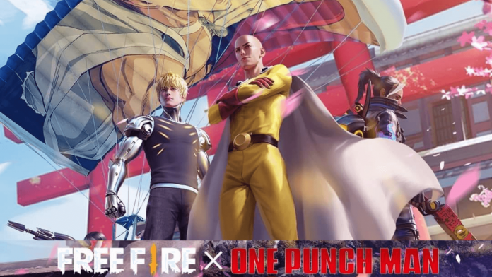 Free Fire One Punch Man