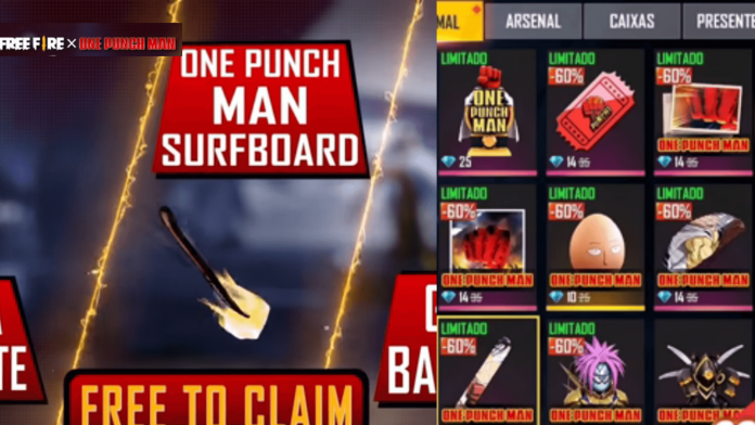 Free Fire x One-Punch Man Event