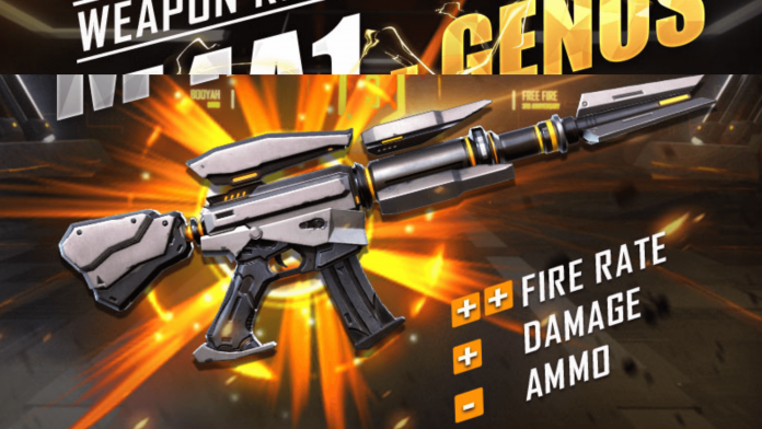 How to get new M4A1 Genos in Free Fire