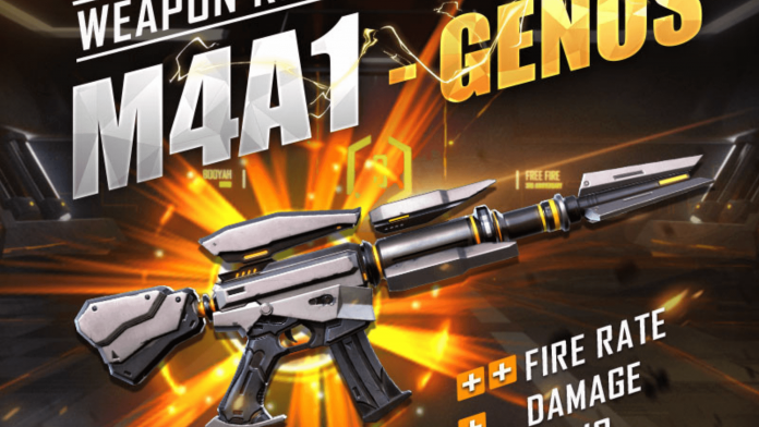 M4A1 Genos Assault Rifle in Free Fire