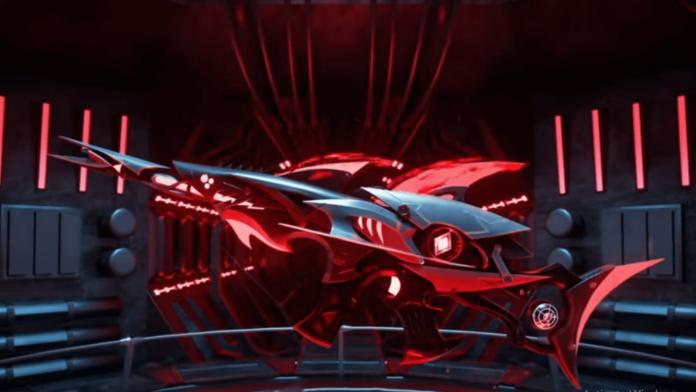 Free Fire Megalodon Alpha Scar gun Skin