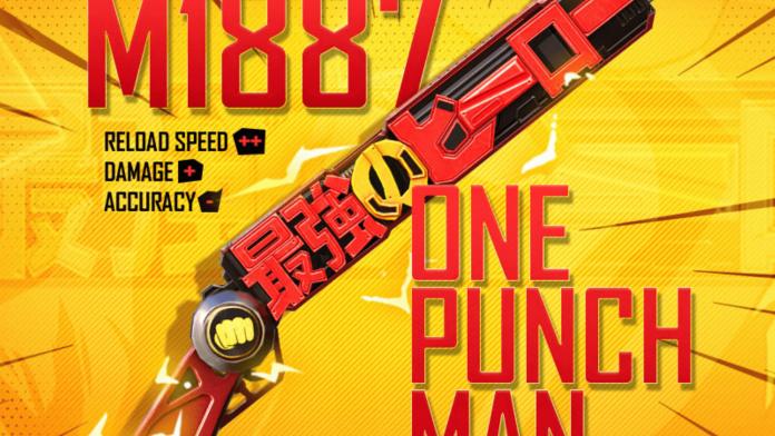 One-Punch Man M1887 Shotgun Skin