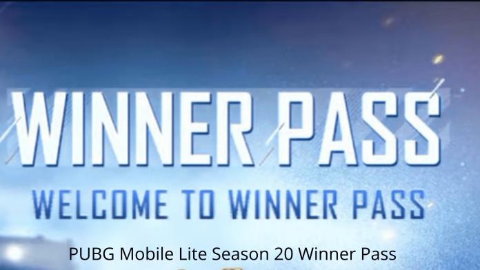 PUBG Mobile Lite Season 20 Winner Pas