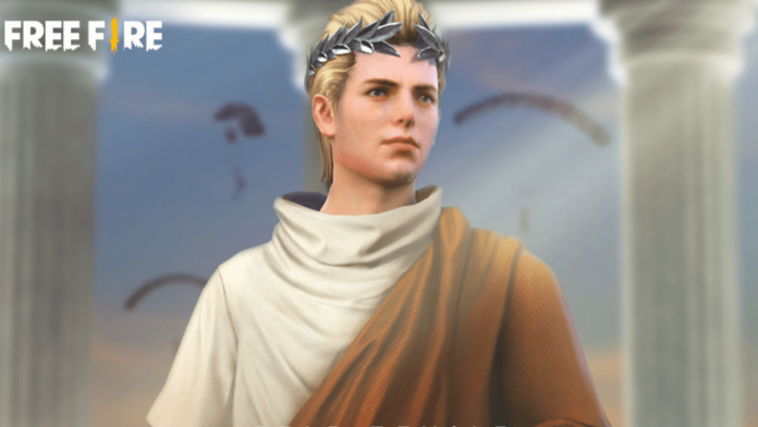 Ancient Rome bundle in Free Fire