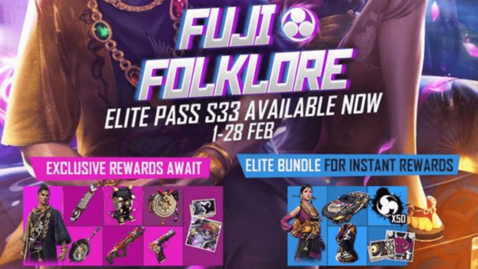 Free Fire Elite Pass Season 33