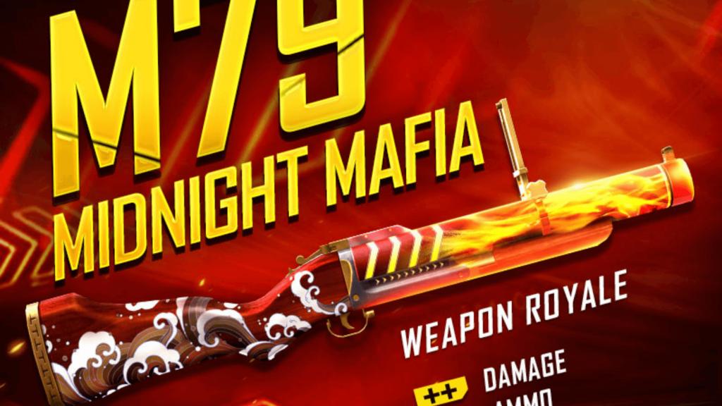 Free Fire Midnight Mafia Gun Skin