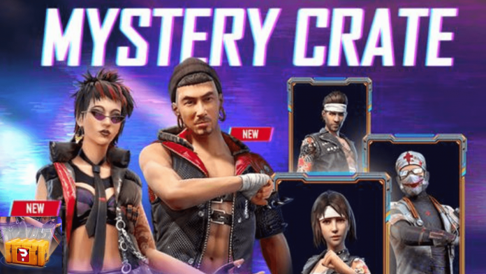 Free Fire Mysterious Crate Event