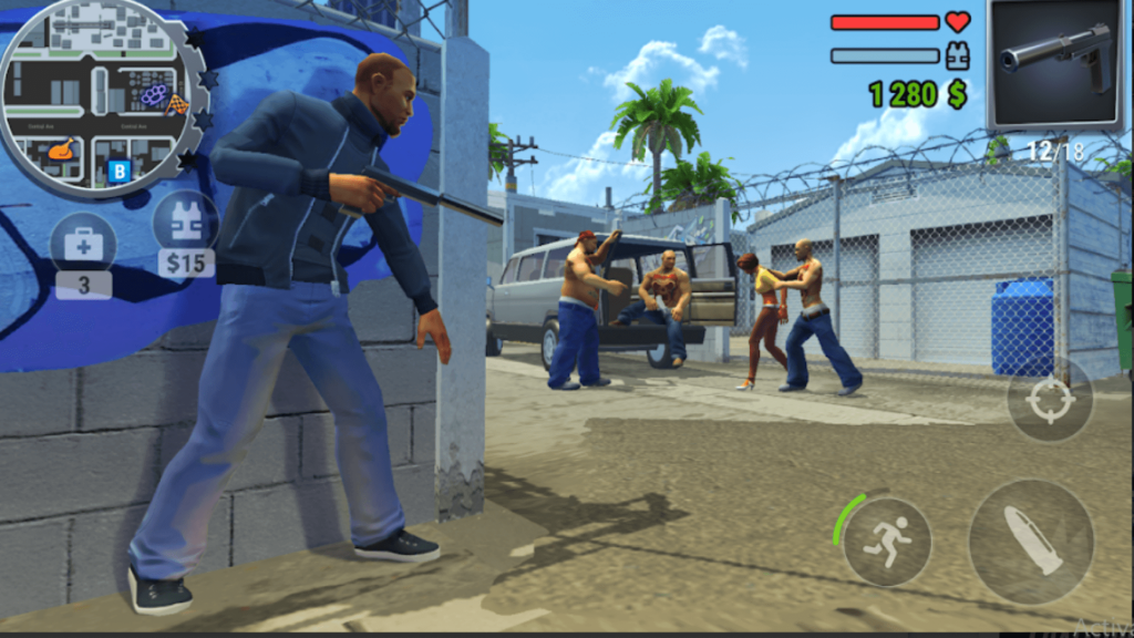 Best Games like GTA on Google Play Store for Android devices