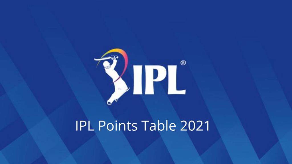 IPL 2021 Update IPL Points Table 2021