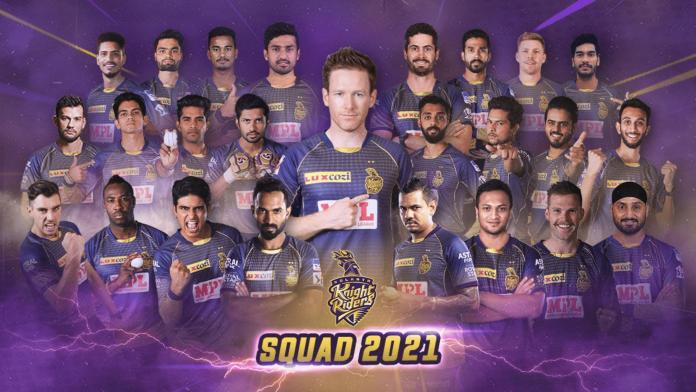 Kolkata Knight Riders player list IPL 2021