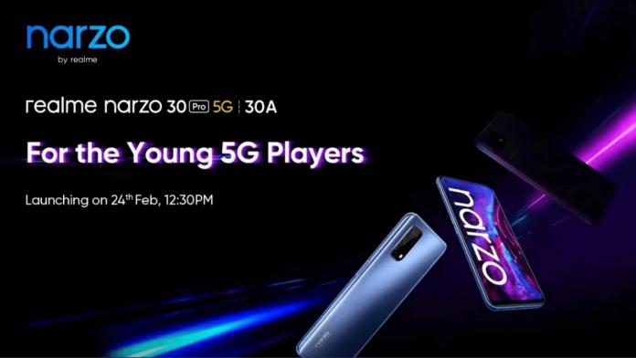 Realme Narzo 30A and Realme Narzo 30 Pro 5G