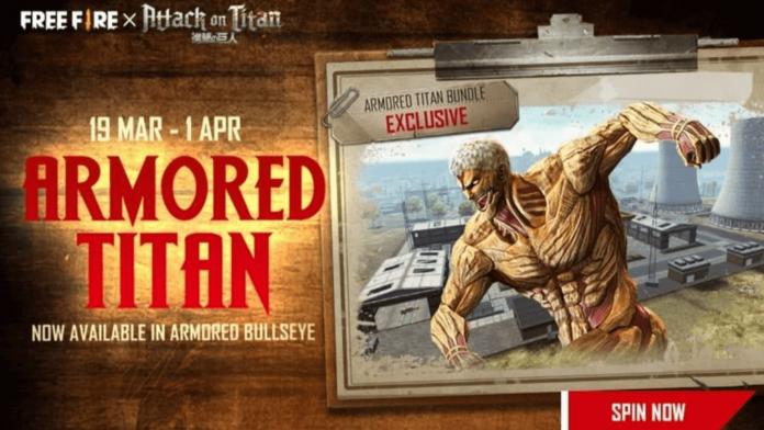 Armored Titan bundle in Free Fire