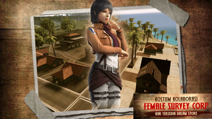 Female Survey Corps bundle added to Free Fire