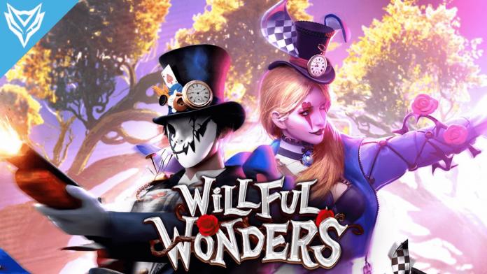 Free Diamonds Willful Wonders event