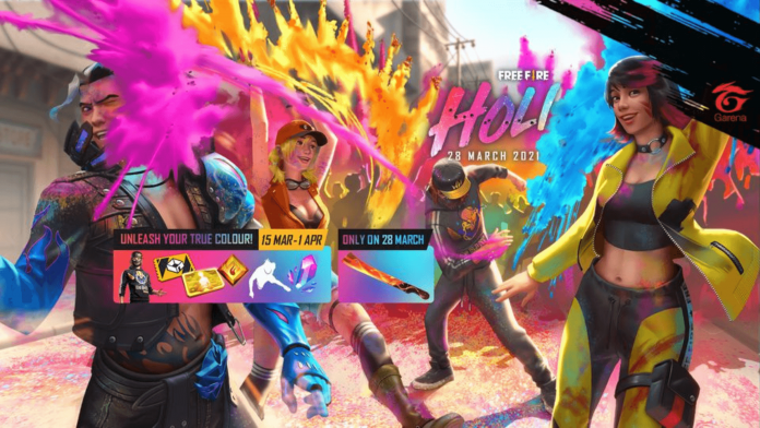 Free Fire Holi After Party event