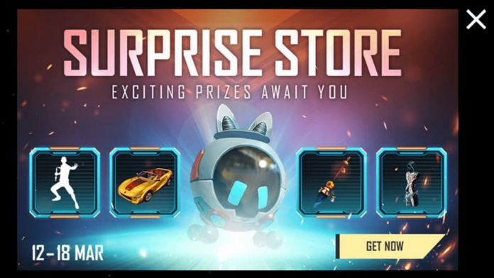 Surprise Store Event at Free Fire